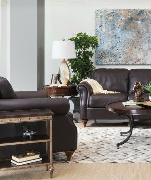 Lazy Boy Sofa Decorating With Brown Leather Furniture Tips for a Lighter Brighter Look