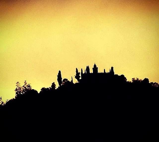 Tramonto sulla Santissima, dicembre 2016 - http://www.gussagonews.it/tramonto-santissima-dicembre-2016/