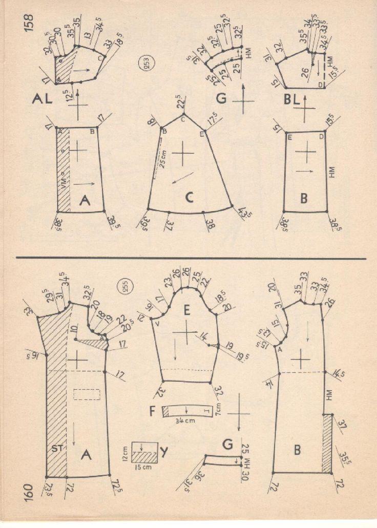 Vintage Sewing Patterns 107 winter 1967  Patternmaking