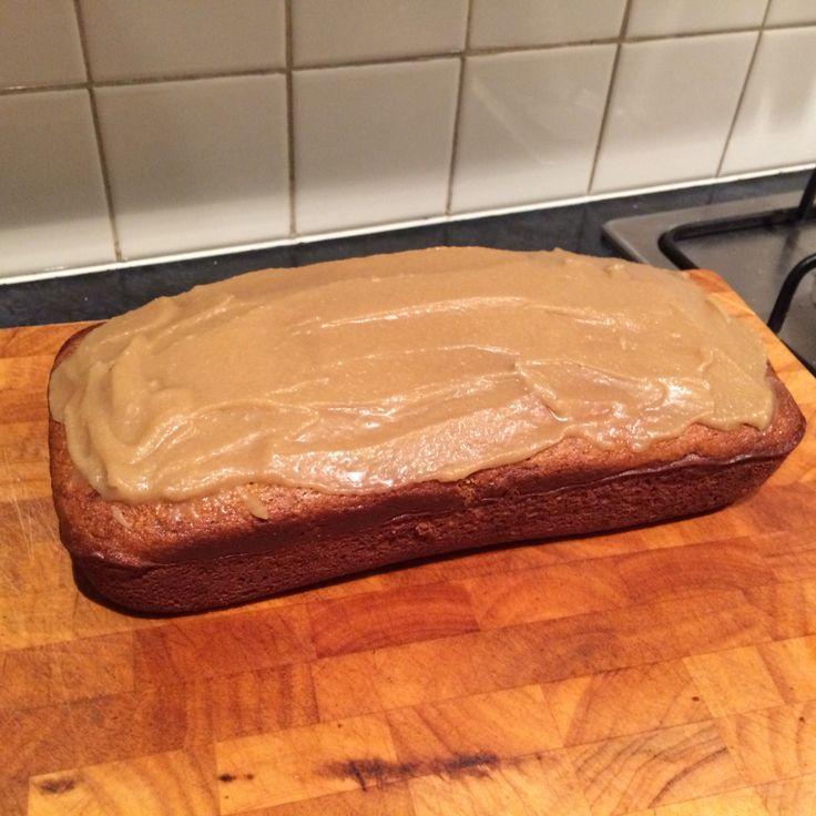 Banana caramel cake, thermomix community recipe