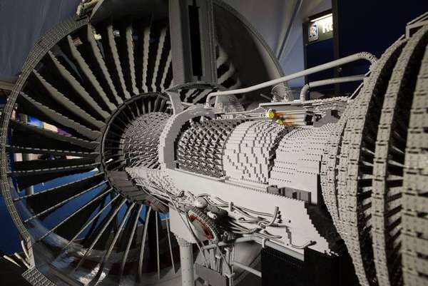 LEGO is not just a child's game, as the Rolls-Royce Trent 1000 engine was recently debuted at the Farnborough International Airshow