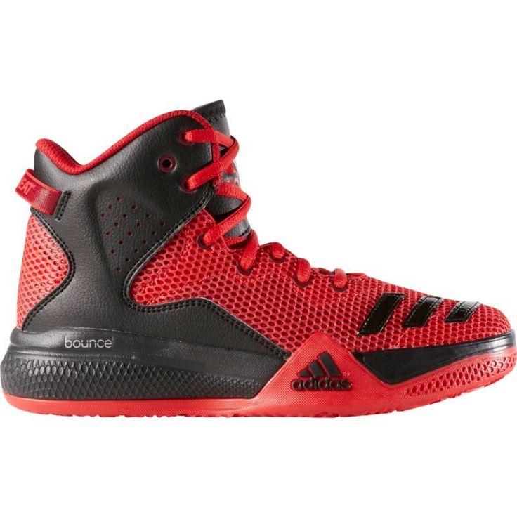 adidas Kids\u0027 Grade School Dual Threat 2 Basketball Shoes, Red