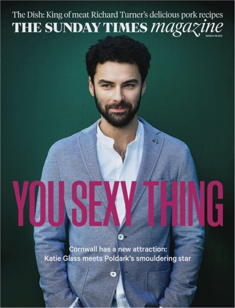 TheSTMagazine: TOMORROW: Katie Glass meets Poldark's smouldering star #Poldark #Poldark2015