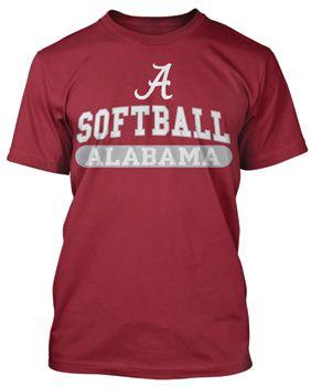 Alabama Softball Tee