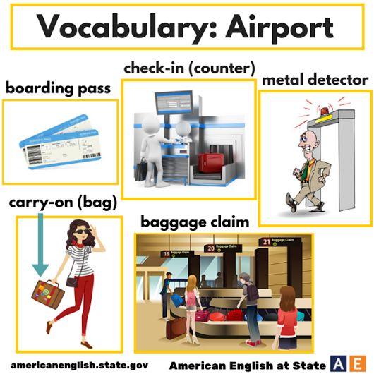 Vocabulary: AIRPORT #learnenglish @AntriParto