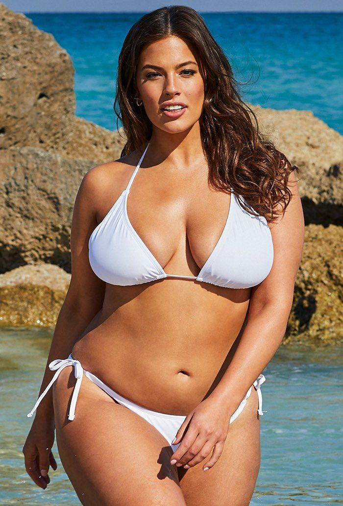 c822a7412f3 Buy Ashley Graham x Swimsuits For All Icon White Bikini at  SwimSuitsForAll.com. #ashleygraham #whitebikini #swimsuitsforall