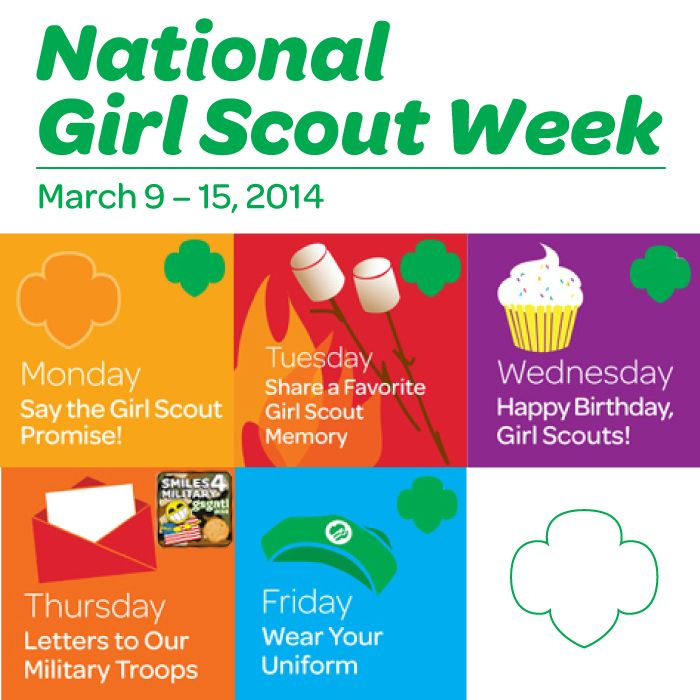 Celebrate Girl Scout Week - Girl Scouts of the USA