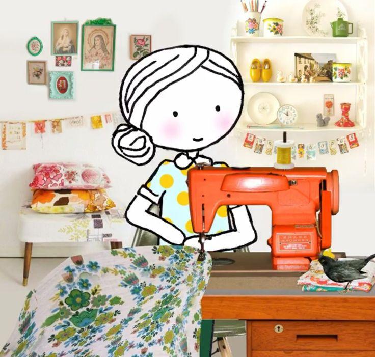 Annelinde Tempelman / Tafelkleed naaien
