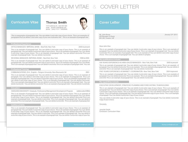 16 best CV Templates Elegant images – Cover Letter Word Templates