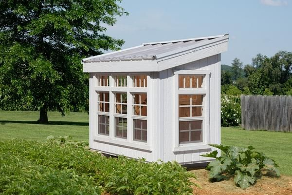 The Petite Greenhouse home greenhouse kits arrives factory primed, panelized, clearly labeled, with the entire hardware set needed to assemble the unit. Customers will need to provide shingles, drip e