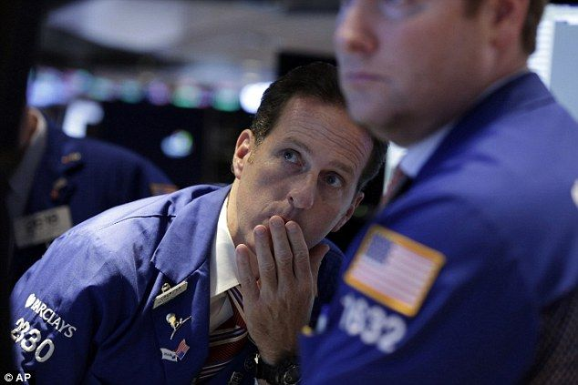 Dow closes down more than 270 points #dailymail