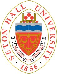 Seton Hall University Seal   Motto: Despite hazards, move forward  Established in 1856 and located in South Orange, New Jersey, USA
