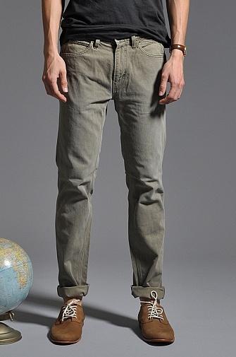 Skargorn V Jeans Moss Fade