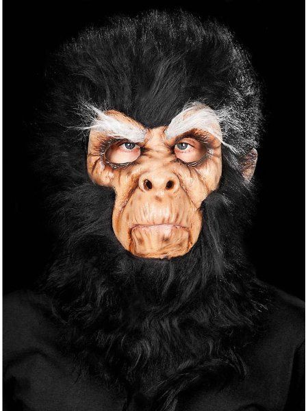 "https://11ter11ter.de/30076127.html Latex Überziehmaske ""Böser Schimpanse"" für Erwachsene #11ter11ter #Maske #Latex #Tiermaske #Tier #Mask #Animal #Kostüm"