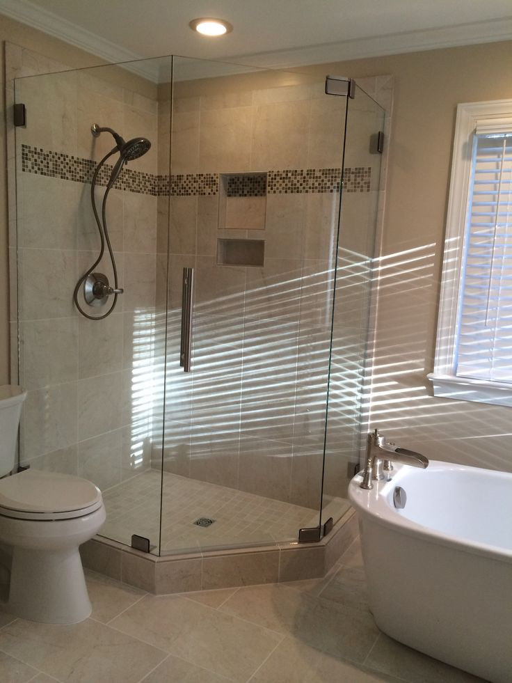 shower and stand alone tub mia shower doors pinterest showers lights and tubs. Black Bedroom Furniture Sets. Home Design Ideas