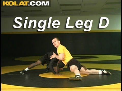 Single Leg Sprawl Defense KOLAT.COM Wrestling Techniques Moves Instruction