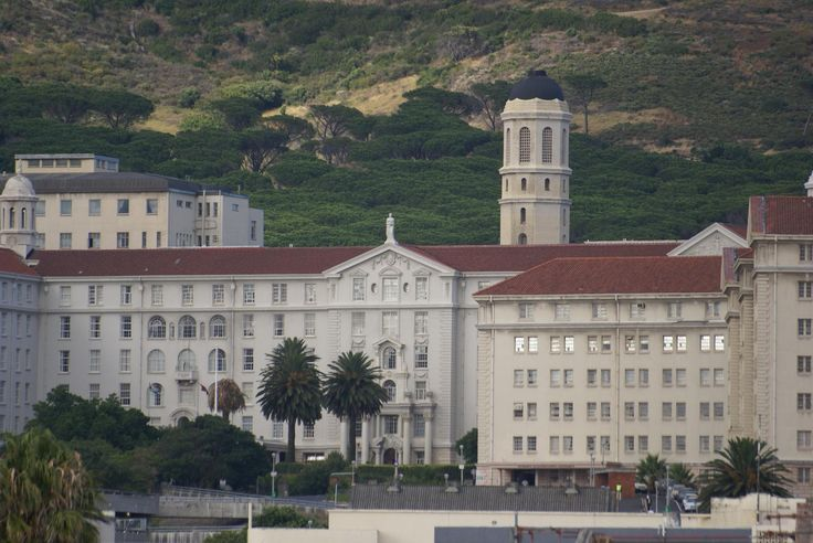Groote Schuur Hospital (translates as big barn) where the world's first heart transplant took place