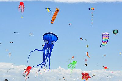 Cape Town International Kite Festival - Muizenberg. #muizenberg #capetown