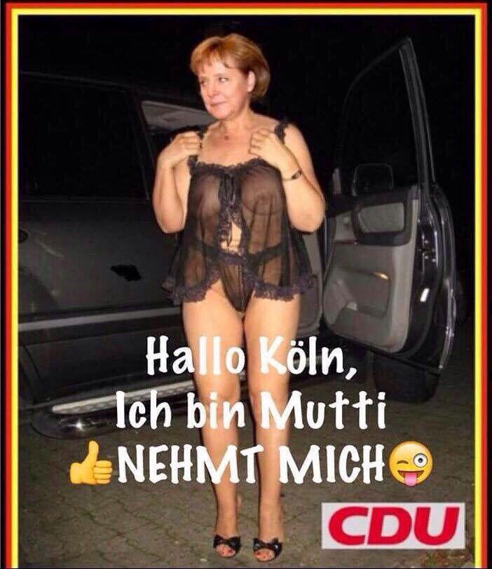 Angela merkel ganz nackt