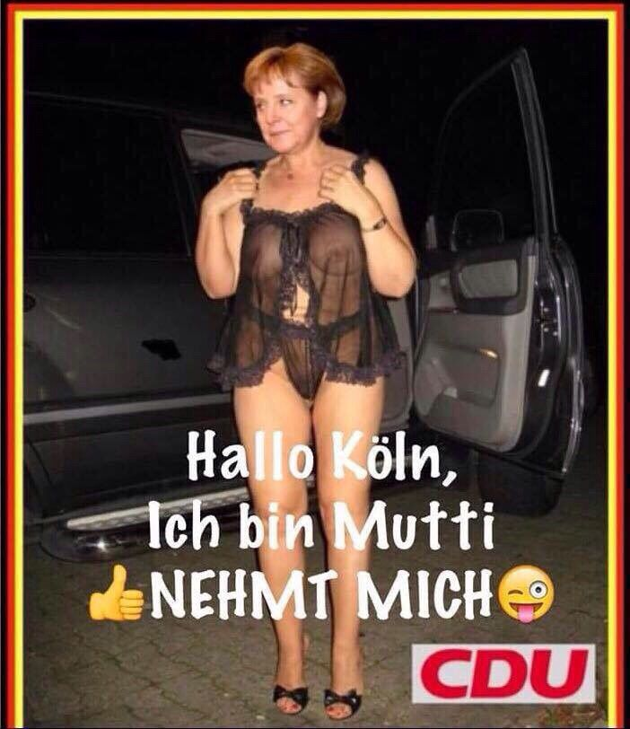 Merkel muss weg!                                                                                                                                                                                 Mehr
