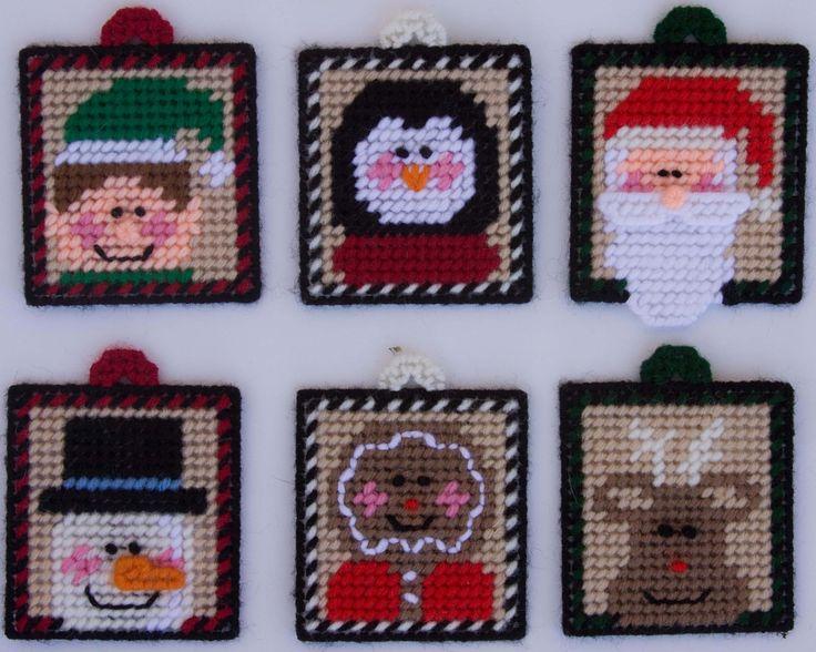 Fun Christmas Magnets/Ornaments