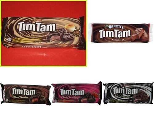 Tim Tam (Arnott's Biscuits) - Choc, Strawberry, Vanilla, Cappuccino, Original