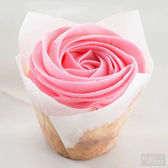 Decorate with Roses: Rosette Cupcakes
