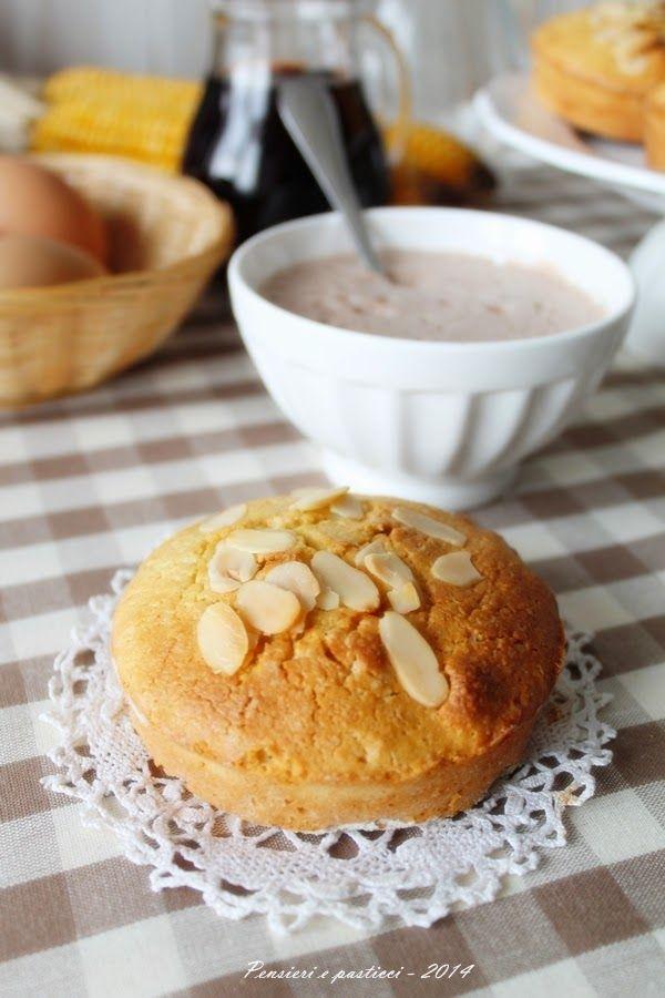 pensieri e pasticci: Il dolce della tradizione lombarda: la rusumada e le tortine rustiche alla farina gialla
