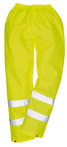 Portwest Mens Safety Work Hi Visibility Rainwear Waterproof Traffic trouser Workwear Trousers Yellow (Large W Portwests value waterproof trouser, elastic waist, press stud ankles and two band hi-vis reflective strips make these trousers ideal when you need to stay visible, clean (Barcode EAN = 5023984763285) http://www.comparestoreprices.co.uk/december-2016-4/portwest-mens-safety-work-hi-visibility-rainwear-waterproof-traffic-trouser-workwear-trousers-yellow-large-w.asp
