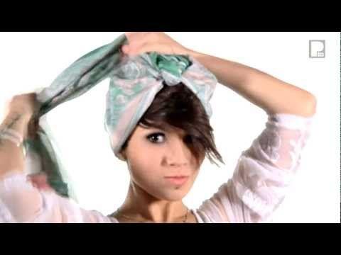 [Visto Bueno #11]  7 Cosas que puedes hacer con un pañuelo.