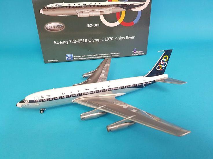 InFlight200 Boeing 720-051B Olympic SX-DBI a metal model in 1/200 scale  #InFlight200