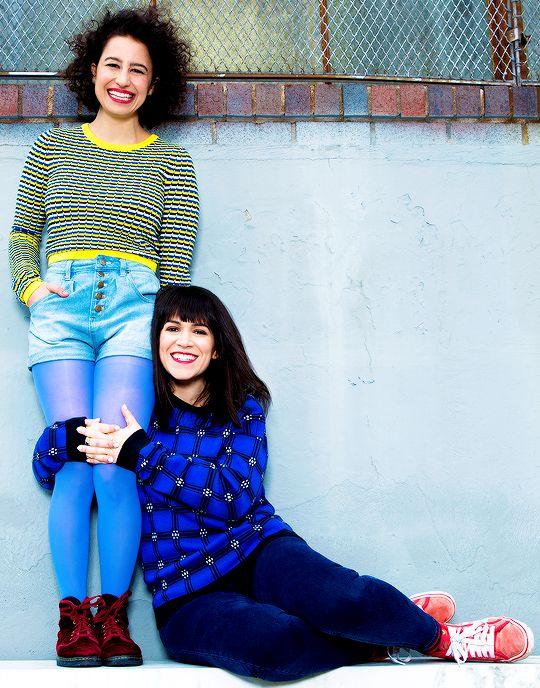 Ilana Glazer & Abbie Jacobson.