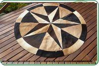 Feito em Gramado Tapetes de couro de Boi