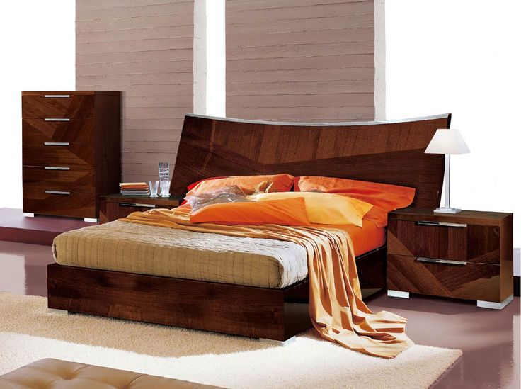 latest wooden bed design photo - Wooden Bedroom Design