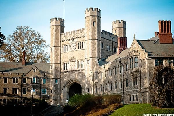 As with many Ivies, Princeton's college grads leave school with lower student debt than those attending a top-tier public university.