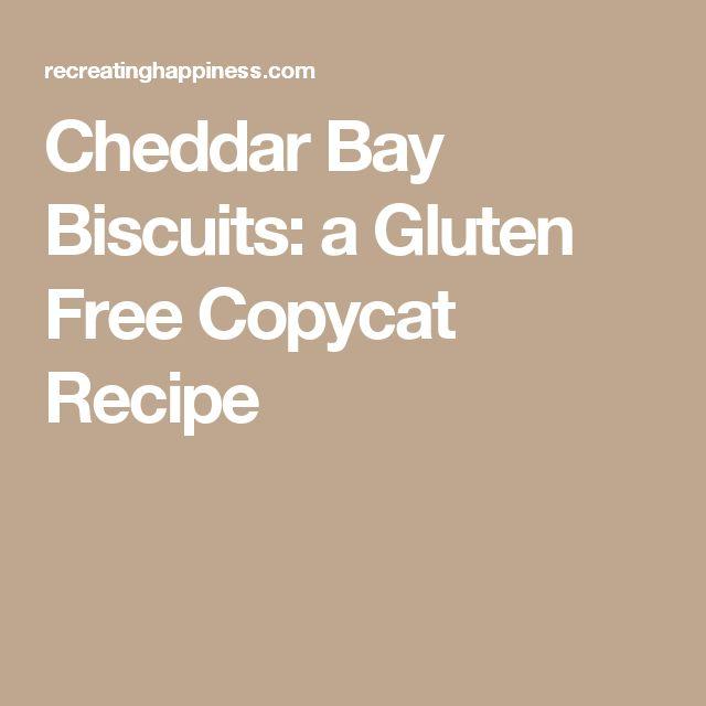 Cheddar Bay Biscuits: a Gluten Free Copycat Recipe