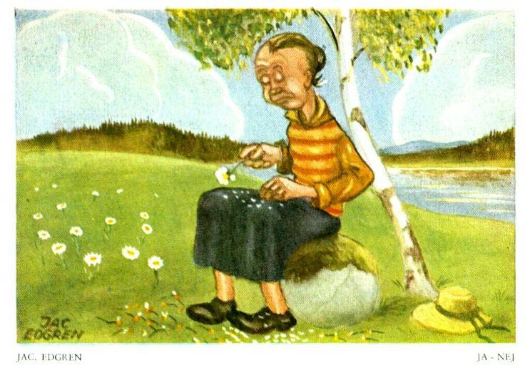 Jac Edgren Ja -Nej Utg Nordisk konst