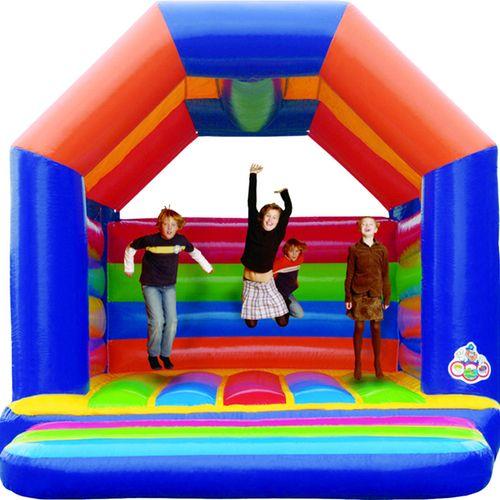 Hüpfburg Disco mieten - kommt auf jedem Kindergeburstag gut an :-)