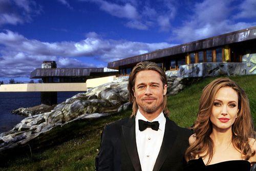 Did Angelina Jolie Buy a FLW-Pedigreed Island for Brad Pitt?