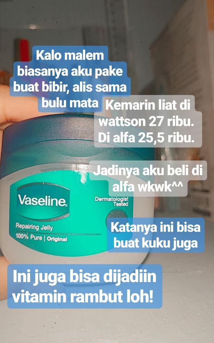 Kegunaan Vaseline Repairing Jelly Untuk Alis Dan Bulu Mata
