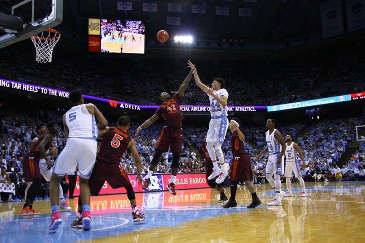 UNC men's basketball sinks season-best 14 3-pointers in Virginia Tech win