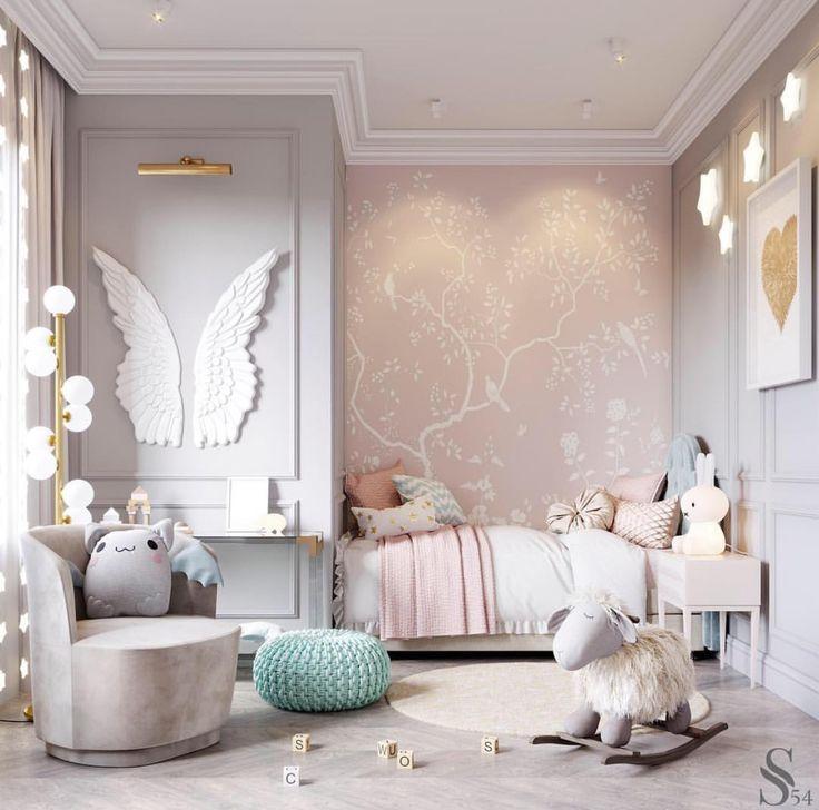 perfektes elegantes kleines Mädchenzimmer
