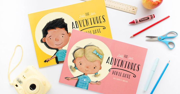 We know Hippo Blue for their best selling name labels. but their new personalised book, The Adventures You'll Have, will melt your heart.