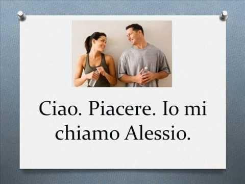 Italian greetings - YouTube