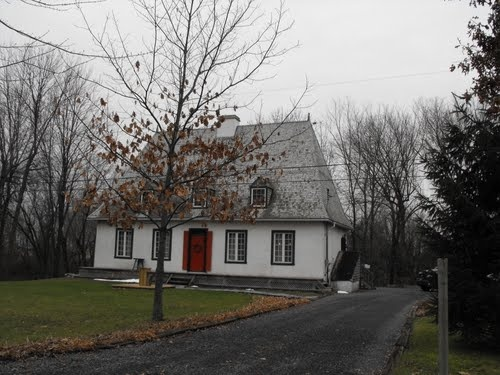 Traditional House in L'Acadie, Quebec.