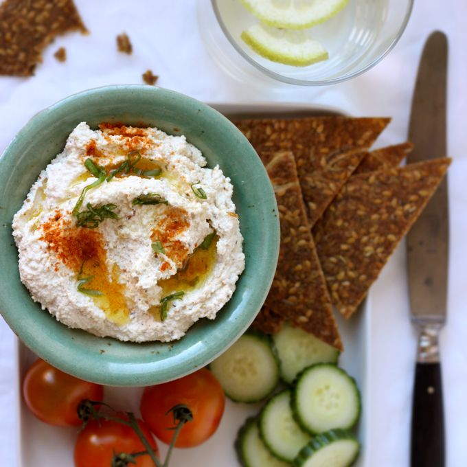Waste Not, Want Not – Raw Nut Pulp Hummus (so you dont have to waste after making a nut milk!)