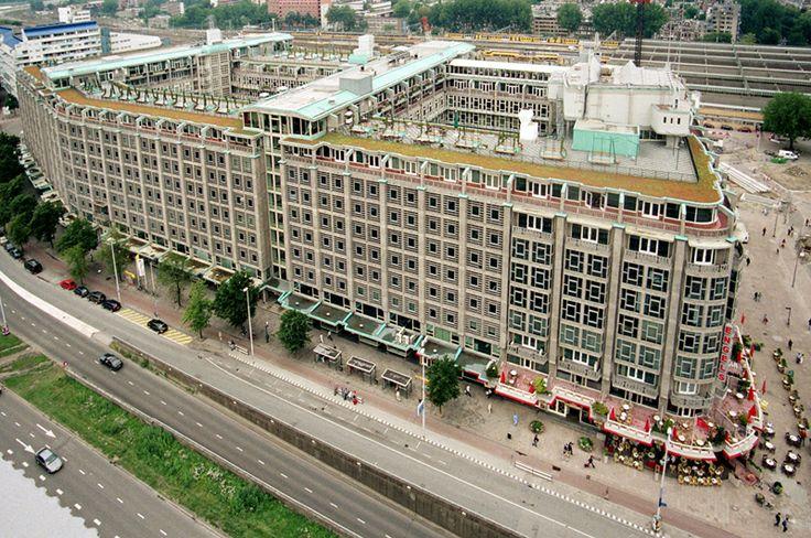 Groot handelsgebouw rotterdam 1951 foto na renovatie for Uit agenda den haag