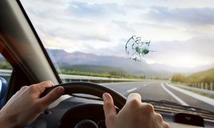 Groupon - $ 19 for $100 Toward Windshield Replacement or Insurance Deductible at Cascade Auto Glass  in On Location. Groupon deal price: $19