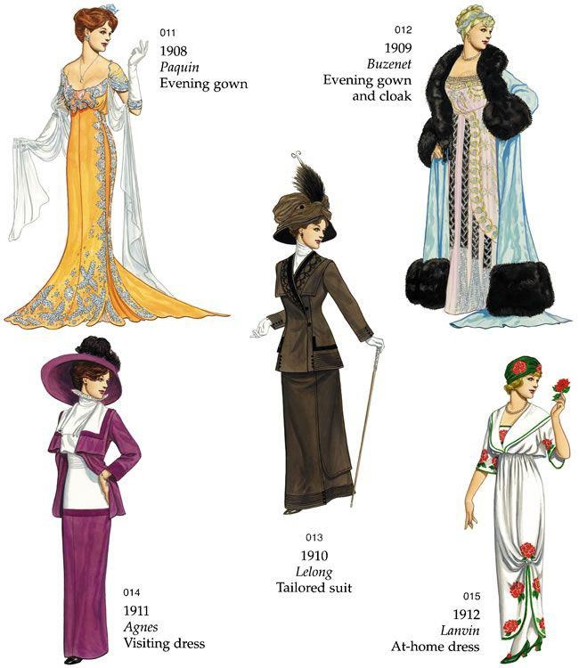 History of Fashion 1900  1970  Victoria and Albert Museum