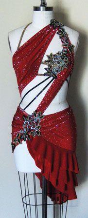 Dangerous Beauty | Zhanna Kens Custom Made Ballroom Dresses, Latin Dance Costumes and Ice Skating Dresses